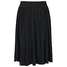 Buy Reiss Shar Pleated Knitted Skirt, Luxe Navy Online at johnlewis.com