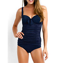 Buy Seafolly Goddess Tankini Top, Indigo Online at johnlewis.com