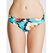 Buy Seafolly Kabuki Twist Bikini Pants, Seychelles Online at johnlewis.com