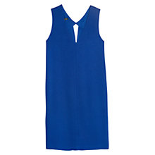 Buy Mango V-Neck Cut-Out Crepe Shift Dress Online at johnlewis.com