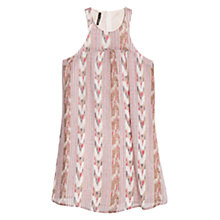 Buy Mango Ikat Print Strap Dress, Multi Online at johnlewis.com
