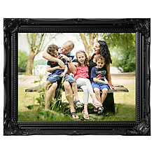 Buy Eyecandy Personalised Vintage Ornate Canvas Photo Print Online at johnlewis.com