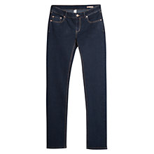 Buy Mango Slim Fit Alice Jeans, Dark Blue Online at johnlewis.com