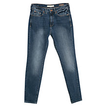 Buy Mango Boyfriend Lonny Jeans, Medium Blue Online at johnlewis.com