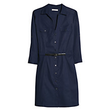 Buy Mango Belted Waist Shirt Dress Online at johnlewis.com
