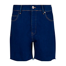 Buy Mango Denim Baggy Shorts, Medium Blue Online at johnlewis.com