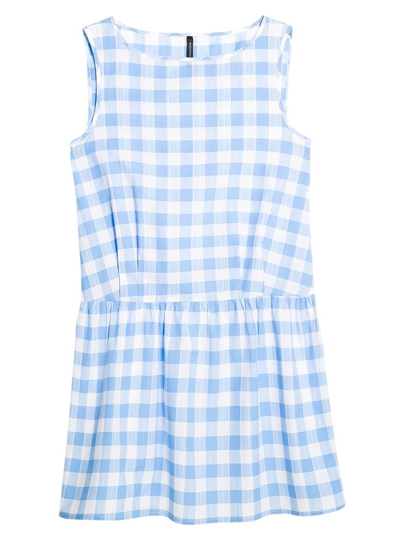 mango gingham check dress medium blue, mango, gingham, check, dress, medium, blue, 8|10, clearance, womenswear offers, womens dresses offers, women, inactive womenswear, new reductions, womens dresses, special offers, 1651427