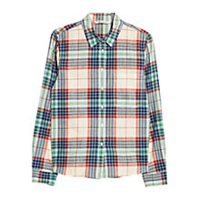 Buy Mango Check Pocket Cotton Shirt, Multi Online at johnlewis.com