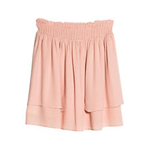 Buy Mango Ruffle Top Skirt, Pastel Pink Online at johnlewis.com