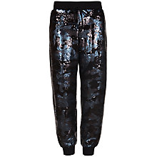 Buy Ted Baker Camouflage Sequin Joggers, Black Online at johnlewis.com