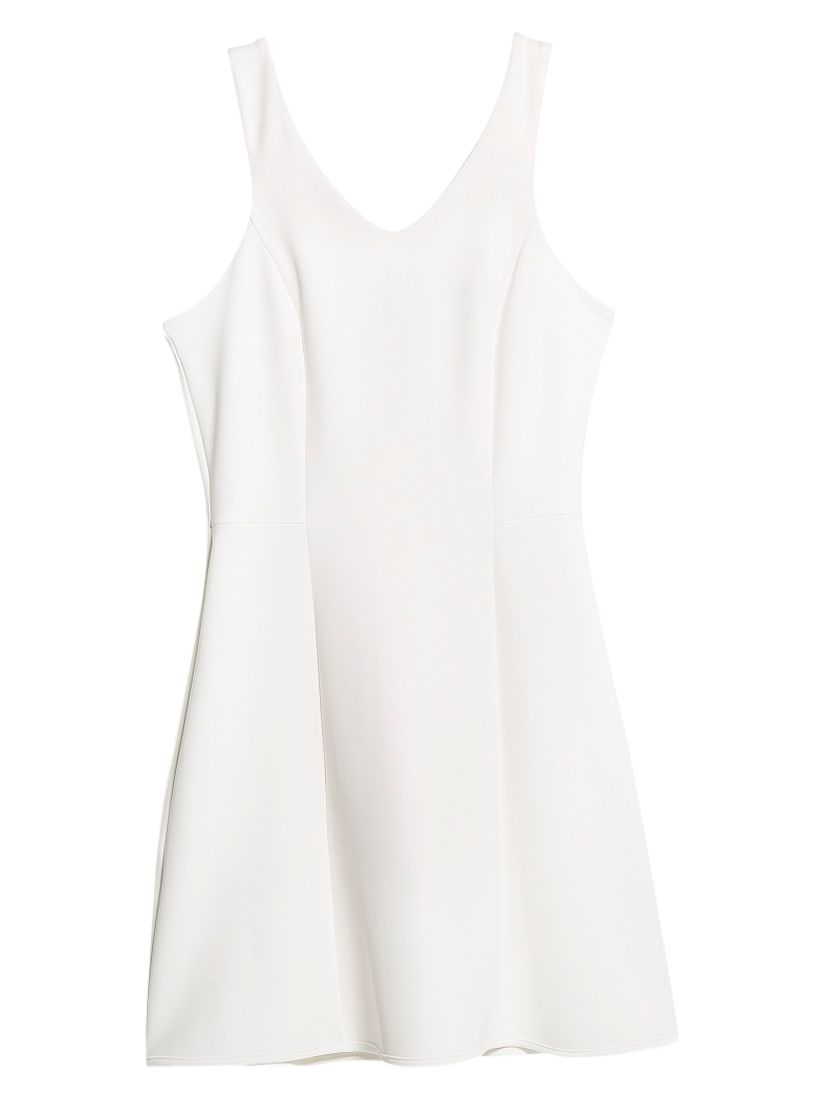 mango v-neck neoprene effect dress natural white, mango, v-neck, neoprene, effect, dress, natural, white, 6|10|8|14, clearance, womenswear offers, womens dresses offers, women, inactive womenswear, new reductions, womens dresses, special offers, 1657475