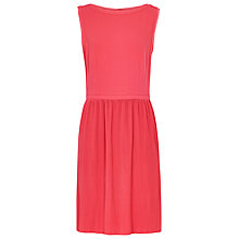 Buy Reiss Copper Fluid Pleated Dress, Flamingo Online at johnlewis.com