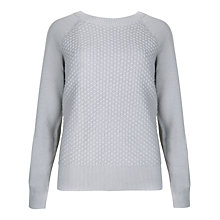 Buy Ted Baker Bobble Stitch Merino Jumper, Grey Marl Online at johnlewis.com