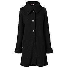 Buy Phase Eight Ria Raschel Coat, Black Online at johnlewis.com