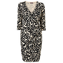 Buy Phase Eight Lexi Leaf Dress, Black/Stone Online at johnlewis.com