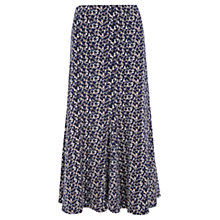 Buy Viyella Blurred Print Jersey Skirt, Ultra Violet Online at johnlewis.com