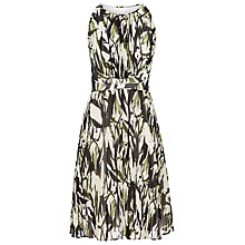 Buy Reiss Winnie Short Pleated Floral Dress, Juliet Online at johnlewis.com