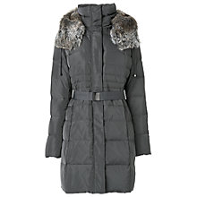 Buy Phase Eight Freya Quilted Coat, Slate Online at johnlewis.com