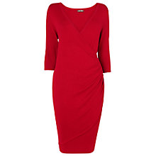 Buy Phase Eight Masie Wrap Dress, Deep Red Online at johnlewis.com