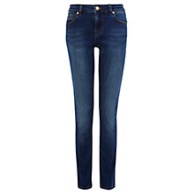 Buy Oasis Body Sculpt Mid Wash Cherry Jeans, Denim Online at johnlewis.com