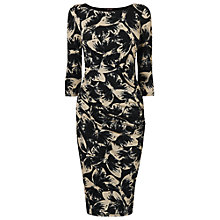 Buy Phase Eight Bonnie Butterfly Dress, Navy/Stone Online at johnlewis.com