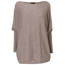 Buy Phase Eight Becca Batwing Long Sleeve Jumper, Mushroom Marl Online at johnlewis.com