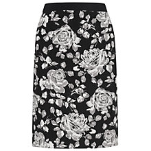 Buy Phase Eight Marcie Floral Skirt, Black/Stone Online at johnlewis.com
