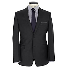Buy Daniel Hechter Twill Stretch Tailored Suit Jacket, Grey Online at johnlewis.com