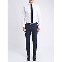 Buy Ben Sherman Tailoring Slim Fit Graphic Check Suit Trousers, Blue Online at johnlewis.com