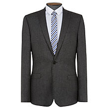 Buy Ben Sherman Tailoring Slim Fit Diagonal Gingham Suit Jacket, Smoked Pearl Online at johnlewis.com