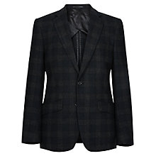 Buy Reiss Raeburn Check Blazer, Charcoal Online at johnlewis.com