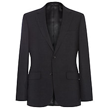 Buy Reiss Belhurst Colour Weave Blazer, Black Online at johnlewis.com
