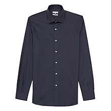 Buy Reiss Driver Long Sleeve Shirt, Navy Online at johnlewis.com