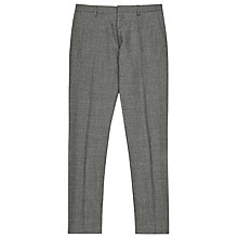 Buy Reiss Charles Modern Tailored Trousers, Grey Online at johnlewis.com