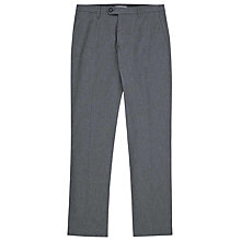 Buy Reiss Hope Mini Dogtooth Trousers, Blue Online at johnlewis.com