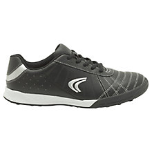 Buy Clarks Children's Swerve Time Trainers, Black Online at johnlewis.com