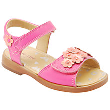 Buy Start-rite Moonflower Sandals, Hot Pink/Coral Online at johnlewis.com