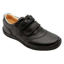 Buy Start-rite Chloe Leather Shoes, Black Online at johnlewis.com