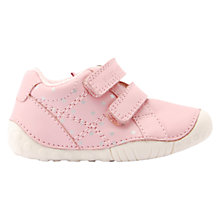 Buy Start-rite Children's Milan Pre-Walker Leather Shoes, Pink Online at johnlewis.com