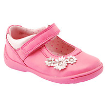 Buy Start-rite Super Soft Daisy Shoes, Hot Pink Online at johnlewis.com