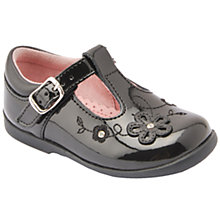 Buy Start-rite Sunflower Patent Mary Jane Pumps, Black Online at johnlewis.com