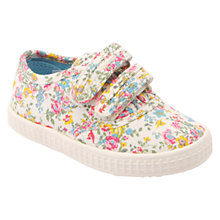 Buy Start-rite Wildflower Canvas Shoes, Multi Online at johnlewis.com