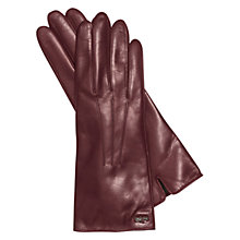 Buy Coach Basic Leather Wool Lined Gloves Online at johnlewis.com