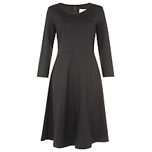 Buy Havren Flippy Ponte Dress, Black Online at johnlewis.com