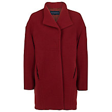 Buy French Connection Imperial Wool Oversized Coat, Burnt Whisky Online at johnlewis.com