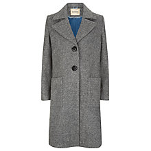 Buy Havren Wool Blend Overcoat, Grey Online at johnlewis.com