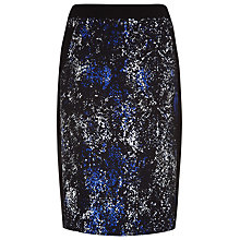 Buy Planet Winter Snakeskin Skirt, Multi Dark Online at johnlewis.com