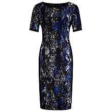 Buy Planet Winter Snake Print Dress, Multi Dark Online at johnlewis.com