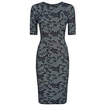 Buy Kaliko Lace Panelled Dress, Grey Online at johnlewis.com