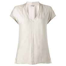 Buy Jigsaw Silk Front Top Online at johnlewis.com